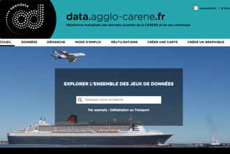 Portail open data Carene Saint-Nazaire