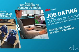 Job dating des chantiers navals STX le 29 juin