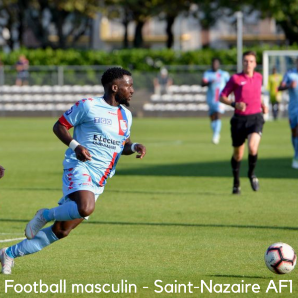 Football. Matches du Saint-Nazaire football